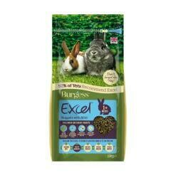 Burgess Excel Junior & Dwarf Rabbit Nuggets with Mint 2kg