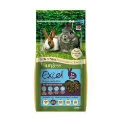 Burgess Excel Junior & Dwarf Rabbit Nuggets with Mint 4kg