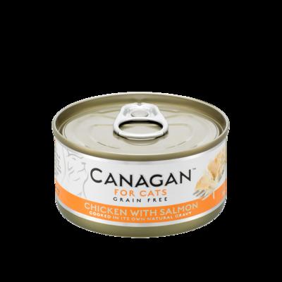 Canagan Chicken with Salmon 75g