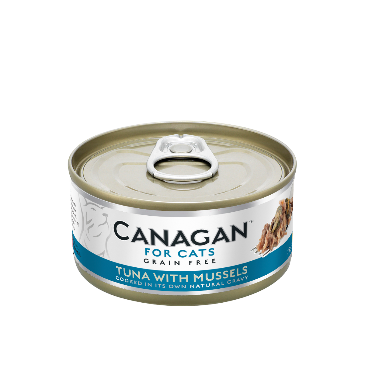 Canagan Tuna with Mussels 75g
