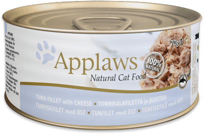 Applaws Tuna Fillet with Cheese 70g