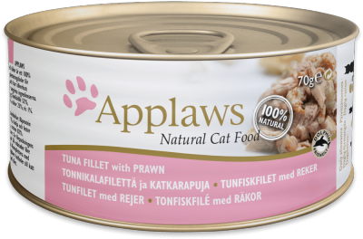 Applaws Tuna Fillet with Prawn 70g