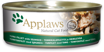 Applaws Tuna Fillet with Seaweed  70g