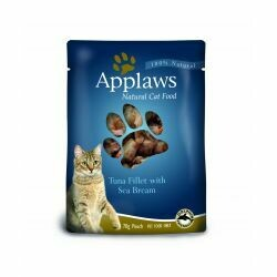 Applaws Tuna Fillet with Seabream Pouch 70g