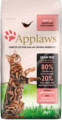 Applaws Chicken with Extra Salmon 400g