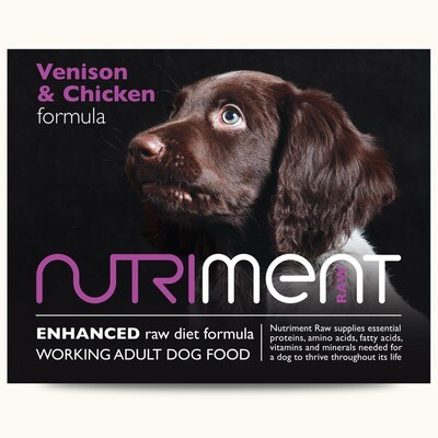 Nutriment Venison and Chicken