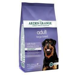 Arden Grange Adult Dog Large Breed Chicken & Rice 12KG