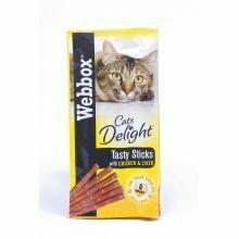 Webbox Tasty Sticks Chicken & Liver 30g