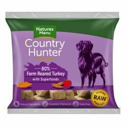 Country Hunter Nuggets Farm Reared Turkey with Superfoods 1kg