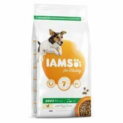Iams Adult Small & Medium Dog Food 12KG