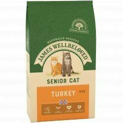 James Wellbeloved Cat Senior Turkey & Rice 4KG