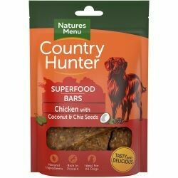 Country Hunter Superfood Bar Chicken with Coconut & Chia Seeds