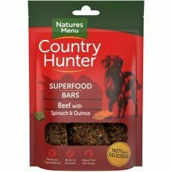 Country Hunter Superfood Bar Beef with Spinach & Quinoa