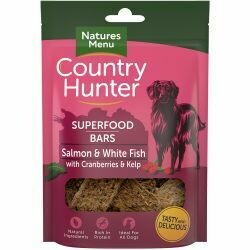 Country Hunter Superfood Bar Salmon & White Fish with Cranberries & Kelp