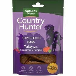 Country Hunter Superfood Bar Turkey with Cranberries & Pumpkin