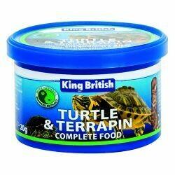 King British Turtle & Terrapin Complete Food 20g