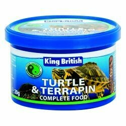 King British Turtle & Terrapin Complete Food 20g