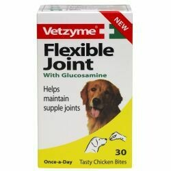 Vetzyme Flexible Joint With Glucosamine Tablets 90's