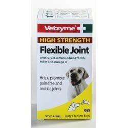 Vetzyme High Strength Flexible Joint Tablets 90's