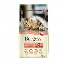 Burgess Supa Cat Scottish Salmon 1.5KG
