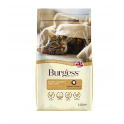Burgess Supa Cat Chicken & Duck 1.5KG
