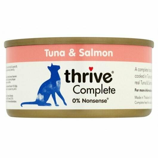 Thrive Tuna & Salmon 75g