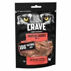 Crave Protein Chunks Beef 55g