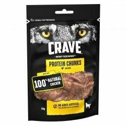 Crave Protein Chunks Chicken 55g
