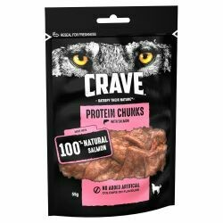 Crave Protein Chunks Salmon 55g