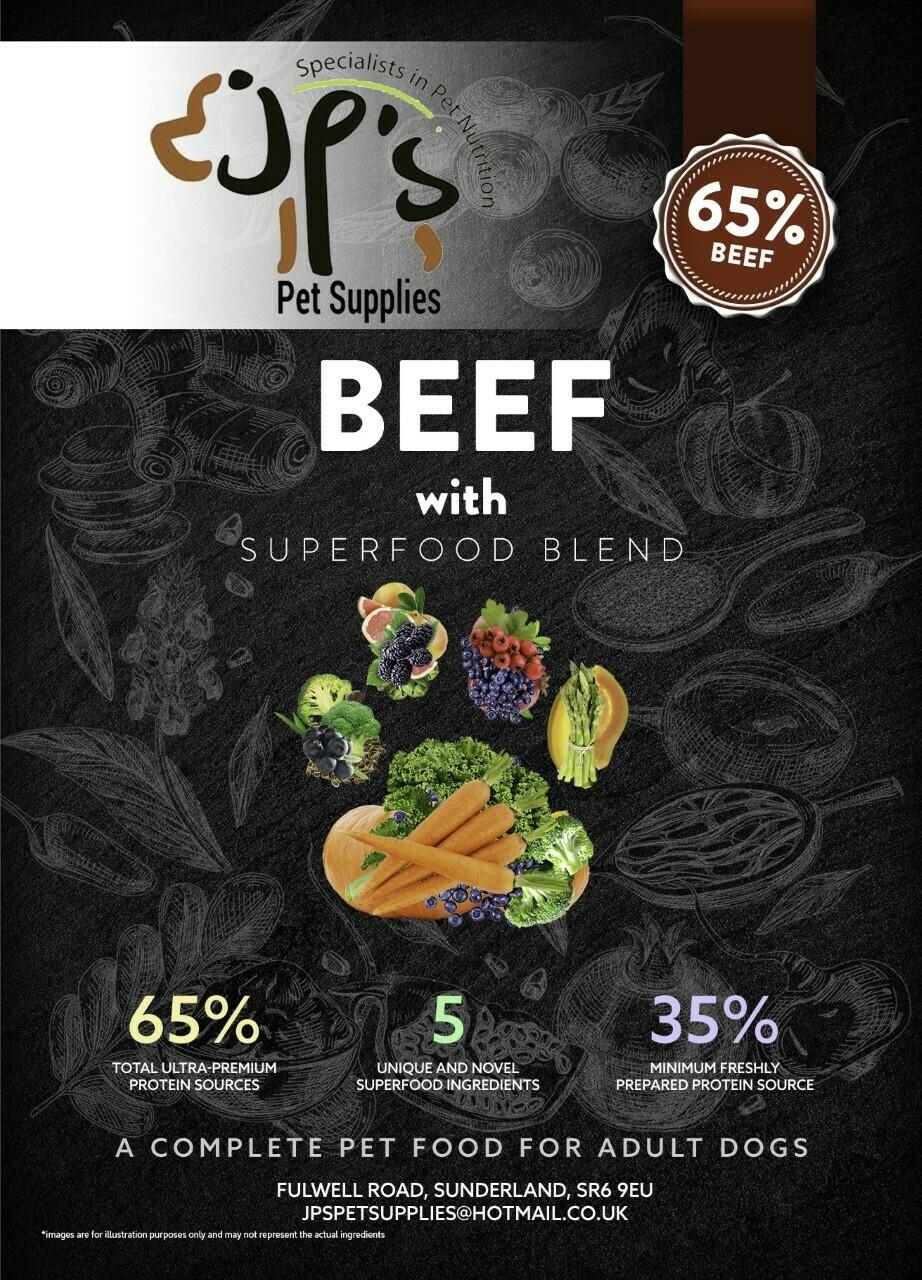 Superfood 65 Beef Adult Dog 2KG