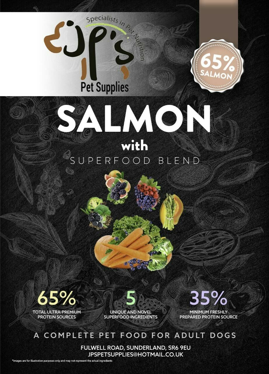 Superfood 65 Salmon Adult Dog 12KG