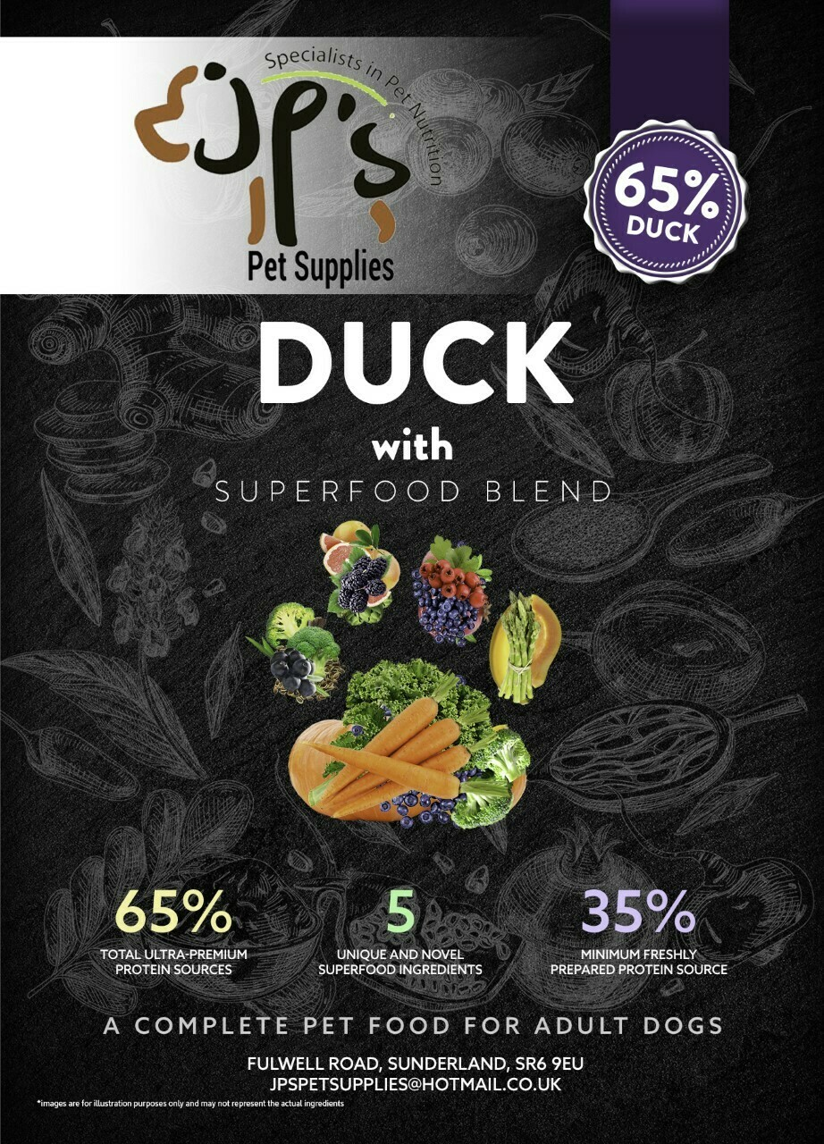 Superfood 65 Duck Adult Dog 2KG