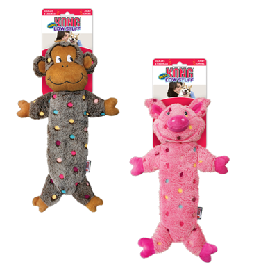 Kong Low Stuff Speckles Toy Large