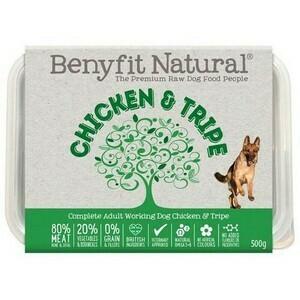 Benyfit Chicken and Tripe 500g