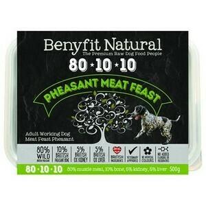 Benyfit Pheasant Meat Feast 80 10 10 500g