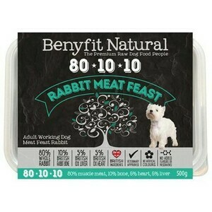 Benyfit Rabbit Natural Feast 80 10 10 500g