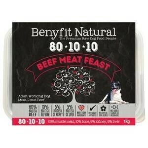 Benyfit Beef Meat Feast 80 10 10 500g