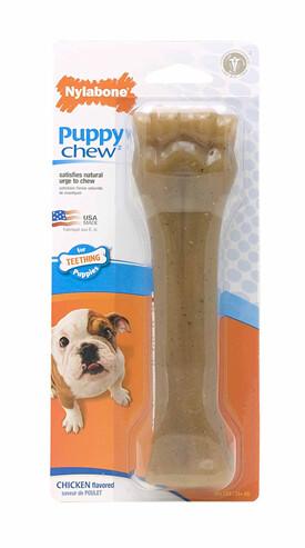Nylabone Puppy Bone Chicken XL