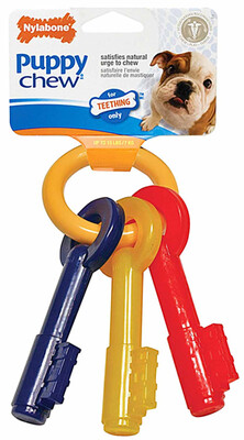 Nylabone Puppy Teething Keys Medium