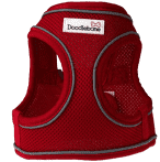 Doodlebone Snappy Airmesh Harness Red
