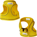 Doodlebone Snappy Airmesh Harness Yellow