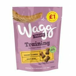 Wagg Training Treats with Chicken and Cheese 100g