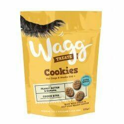 Wagg Cookies Peanut and Banana 125g