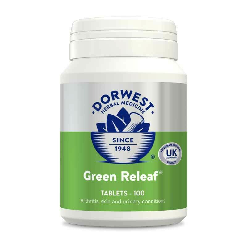 Dorwest Herbs Green Releaf Tablets for Dogs and Cats