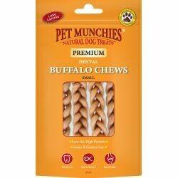 Pet Munchies Buffalo Dental Chew Small (4pk)