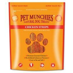 Pet Munchies Chicken Strips 320g