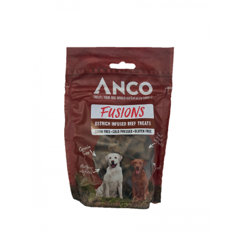 Anco Fusions Beef & Ostrich 100g