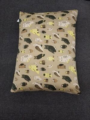 Luxury Cushion - Owl - 90x70cm