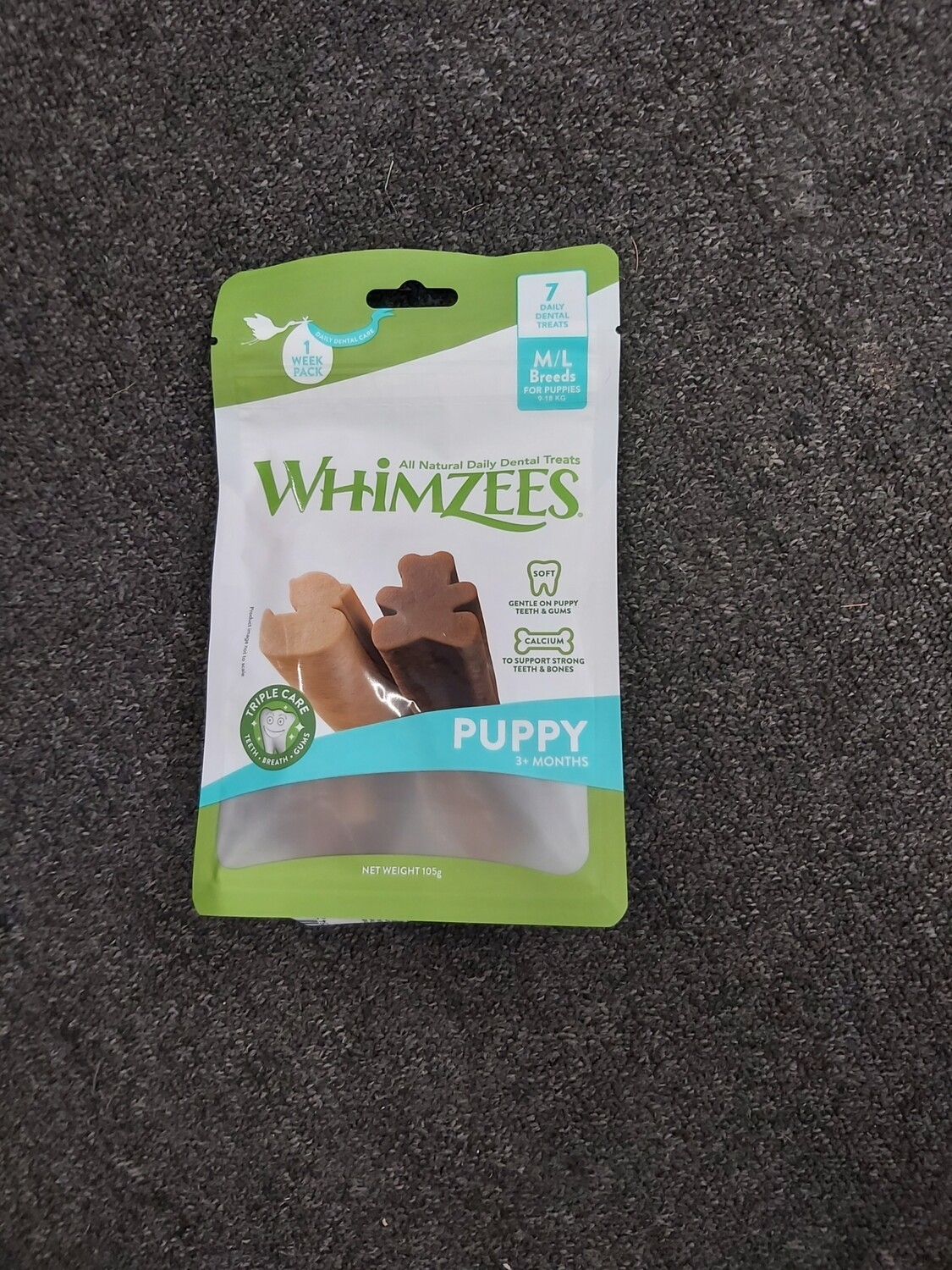 Whimzees Puppy M/L  7 pack