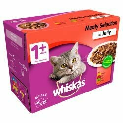 Whiskas Meaty Selection in Jelly 100g x 12pack